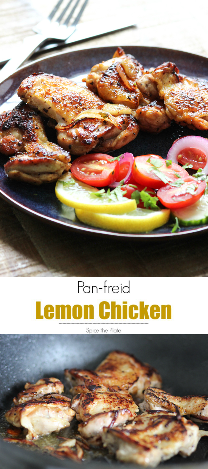 pan-fried lemon chicken