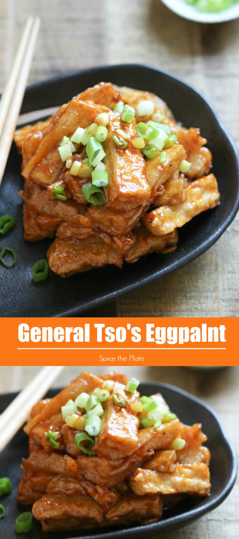 general tso's eggplant