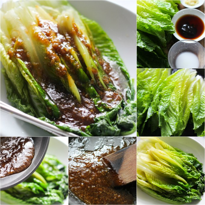 how-to-make-garlic-sauce-romaine-lettuce