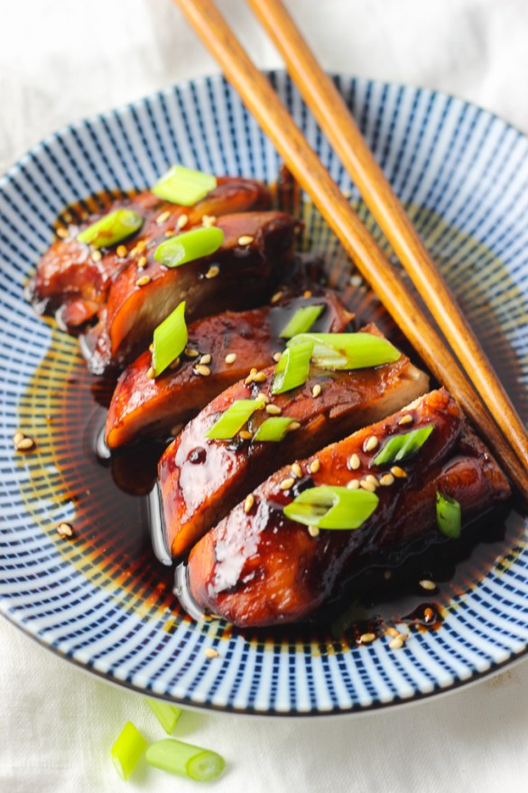 Teriyaki Chicken as Appetizer