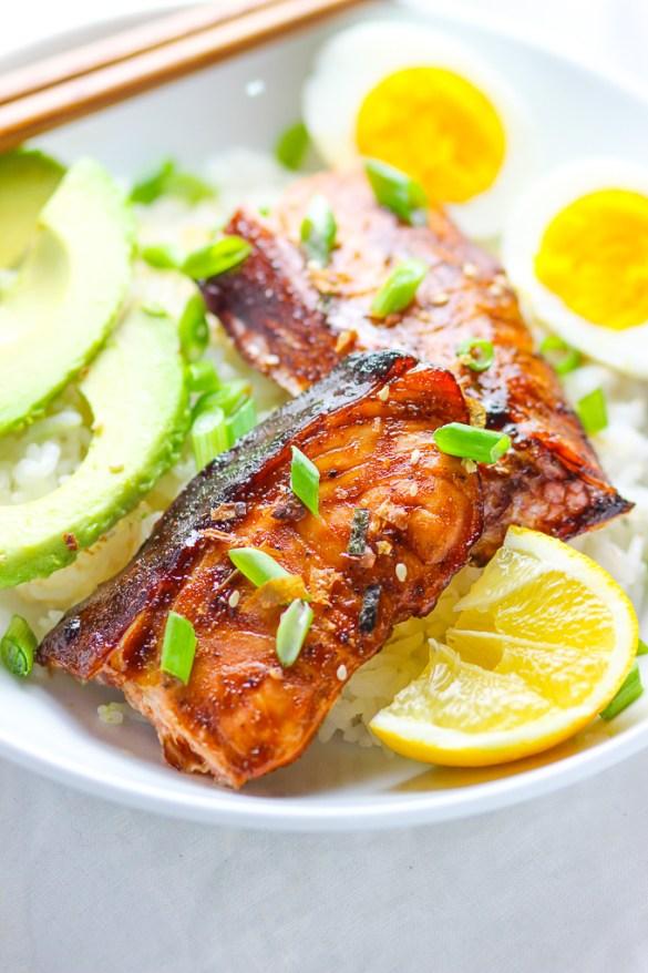 Teriyaki Salmon Feature