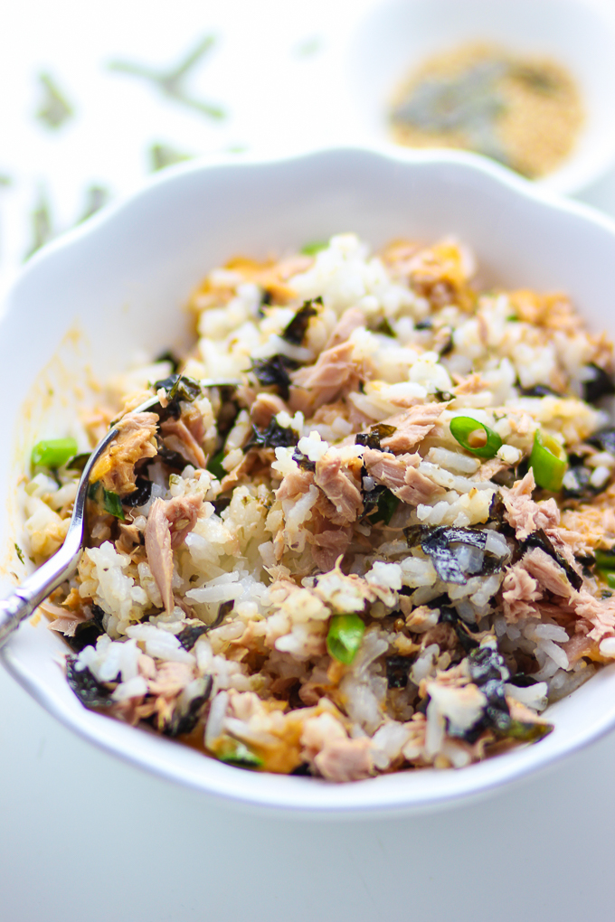 Thousand Island Tuna Rice Bowl