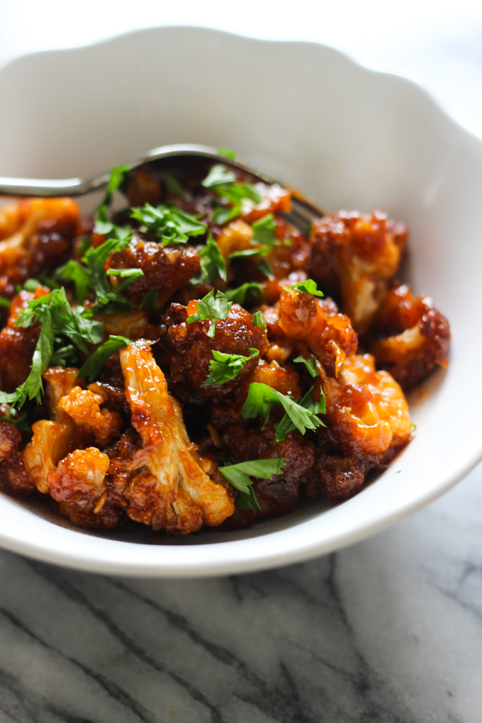 Sweet and Sour Cauliflowers
