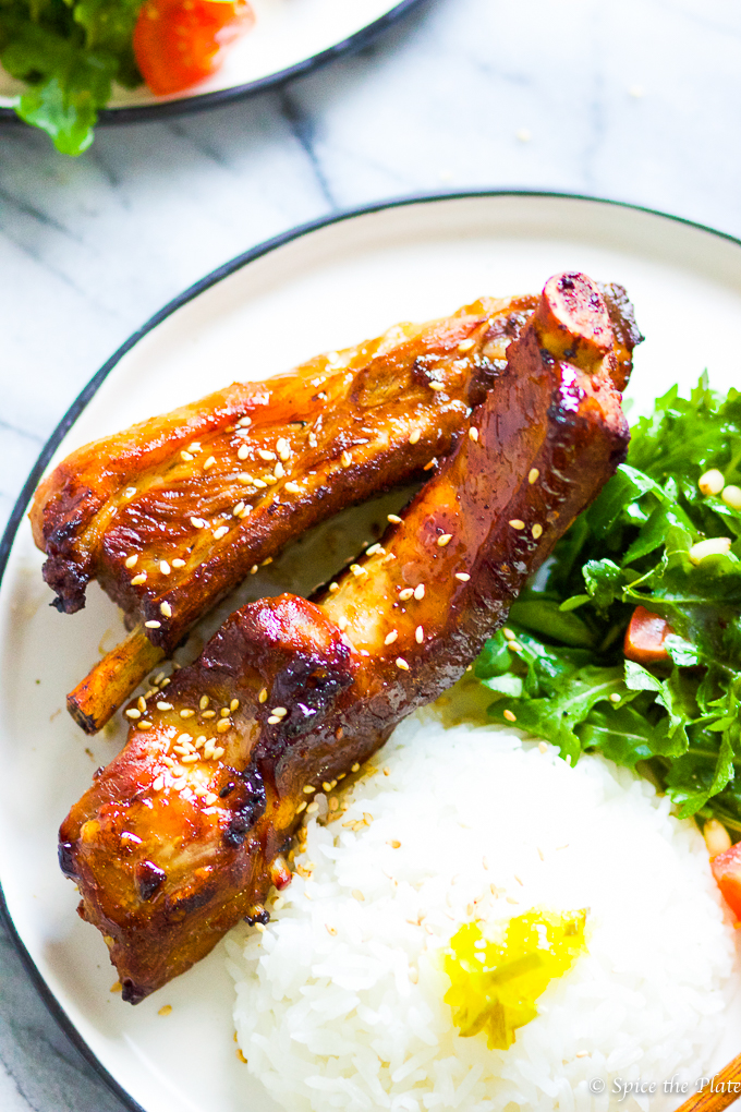 Honey BBQ Baby Back Ribs