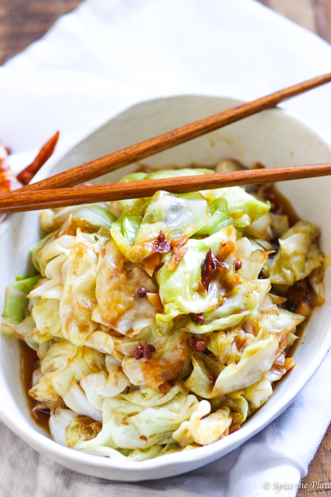 Spicy Szechuan Cabbage Stir Fry Picture