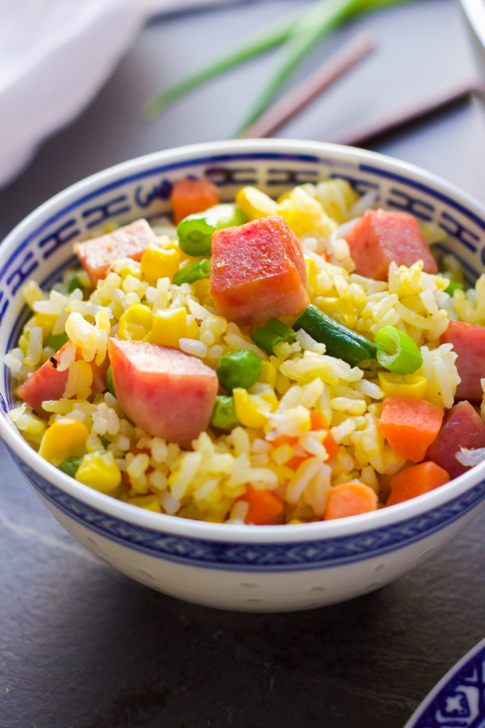 Tasty spam fried rice spice the plate ccuart Images