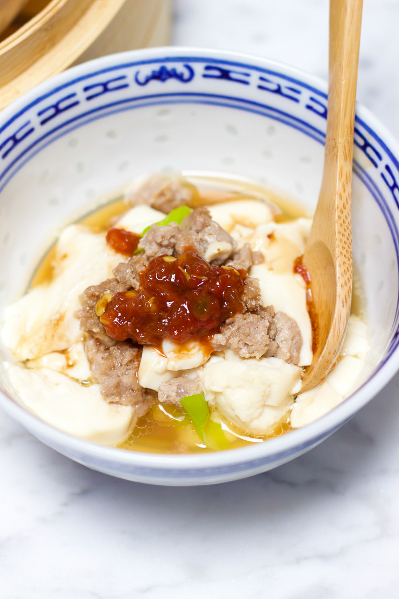 Healthy-Steamed-Tofu-with-Ground-Meat