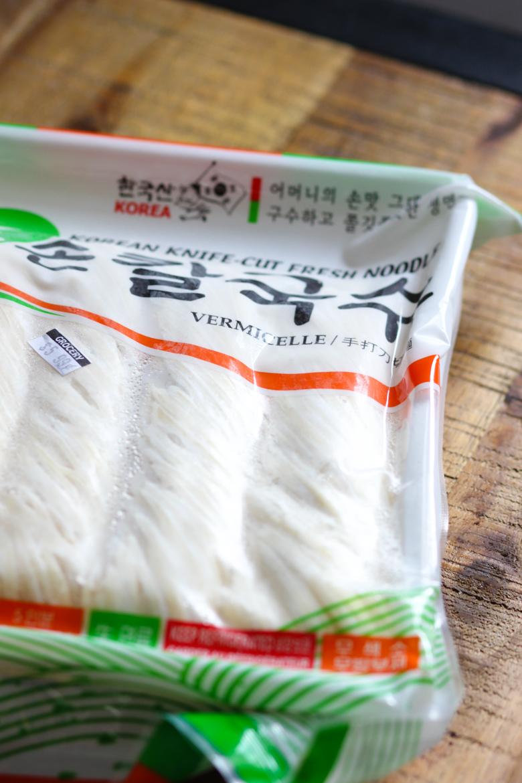 Korean Black Bean Sauce Noodles