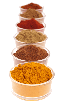 A Variety of Indian Spices