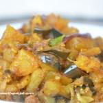 Baigan Aaloo (Eggplant with potatoes)