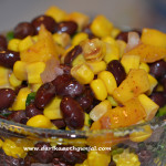 Black Bean & Mango Salsa