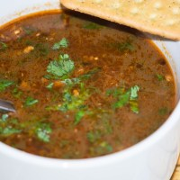 Kala Chana Soup