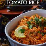Guest Post: Spanish Tomato Rice by Prachi Garg