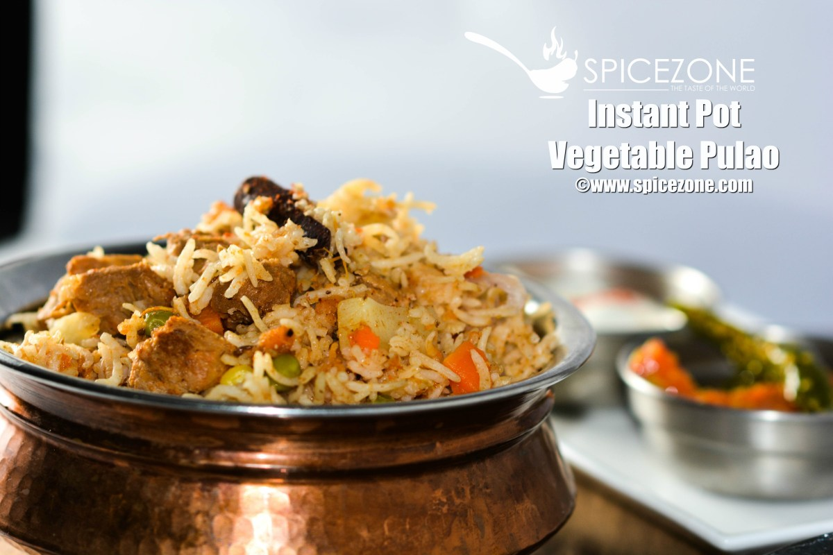 Instant Pot Vegetable Pulao