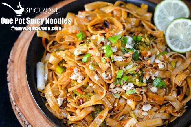 One Pot Spicy Noodles