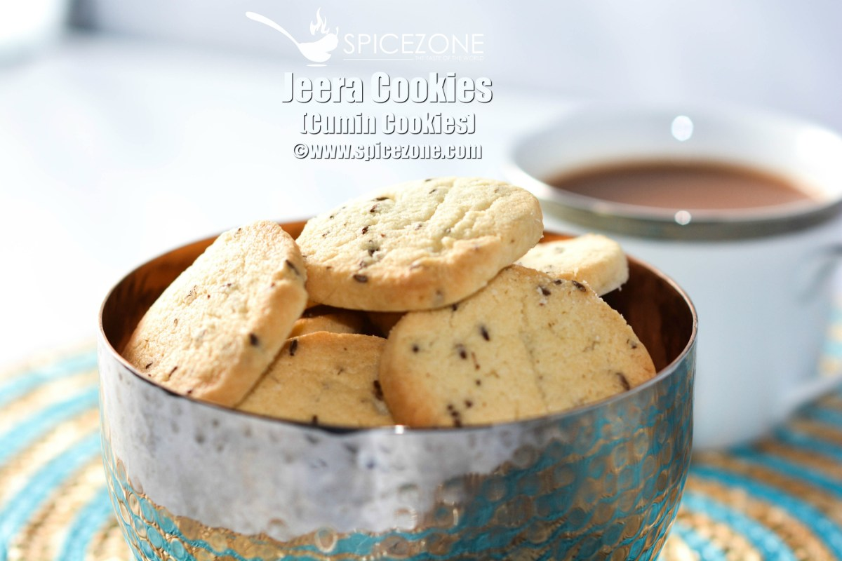 Jeera Cookies (Cumin Cookies)