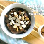 Singoda Halwa (Gluten Free)