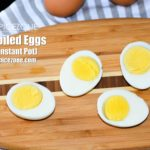 Hard Boiled Eggs | How to boil eggs in 5 minutes using Instant Pot?