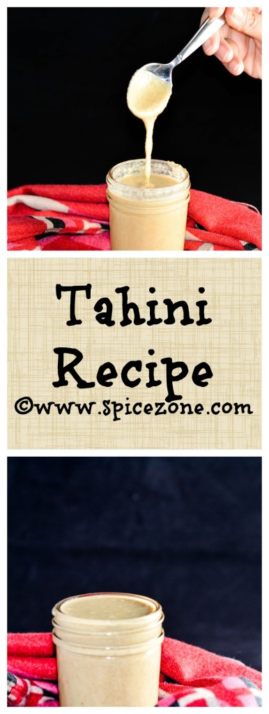 Tahini Recipe