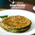 Palak Paratha   Spinach Paratha Recipe