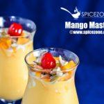 Mango Mastani | Mango drink/dessert