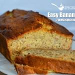 Easy Banana Bread | How to make Banana Bread