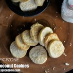 Eggless Coconut Cookies | Nariyal Cookies
