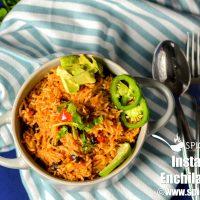 Enchilada Rice | Instant Pot Enchilada Rice
