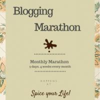 Blogging Marathon # 112 - 3 Day Marathon for 4 weeks!