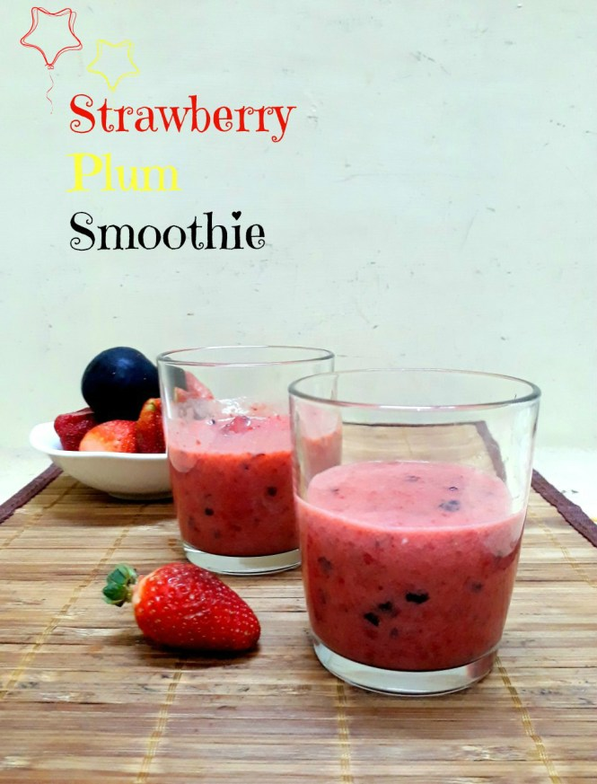 Strawberry Plum Smoothie