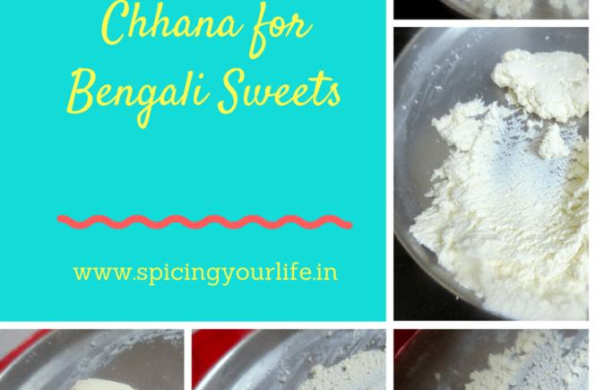 How to knead Chhana