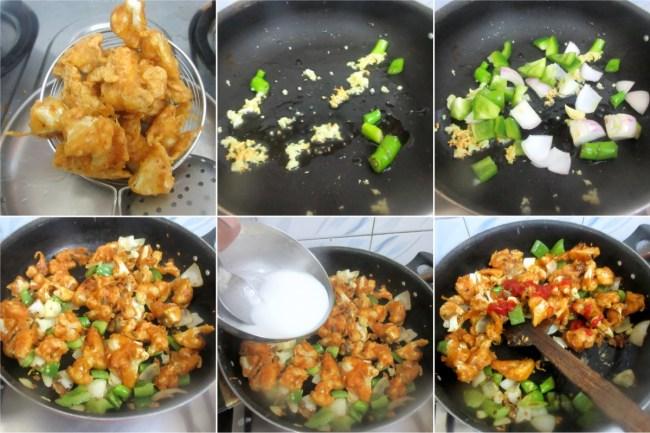 How to make Chilli Gobi 2