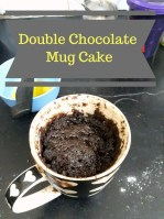 Double Chocolate Mug Cake