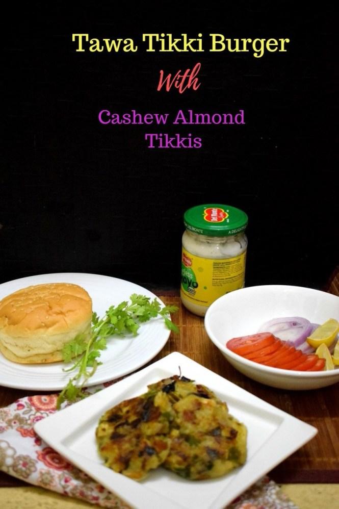 How to make Tawa Tikki Burger
