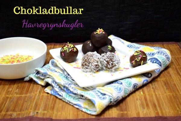 Chokladbullar - Havregrynskugler