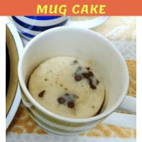 Microwave Eggless Banana Mug Cake