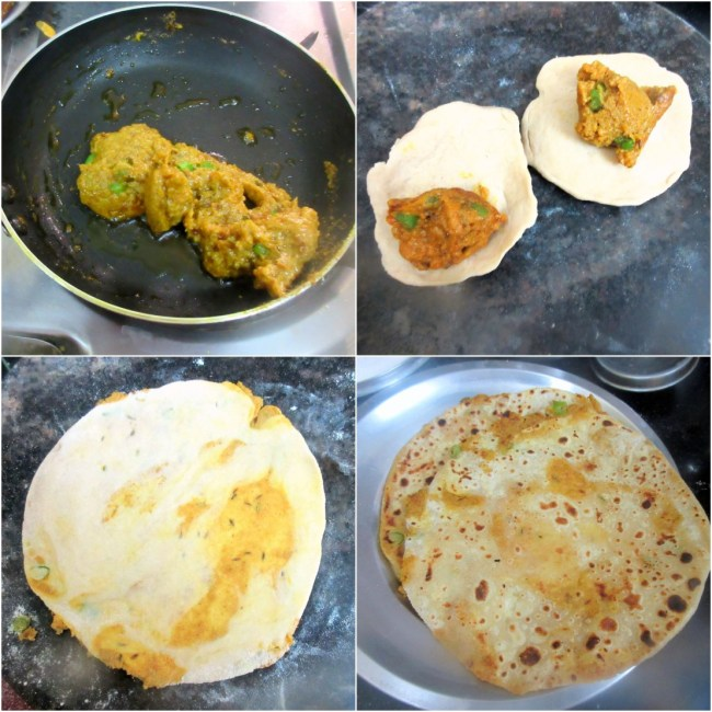 How to make Peethi ki Paronthi 2