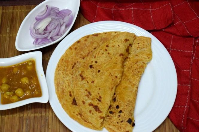Moong Dal Paratha