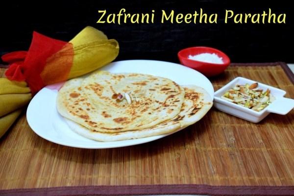 Zafrani Meetha Paratha