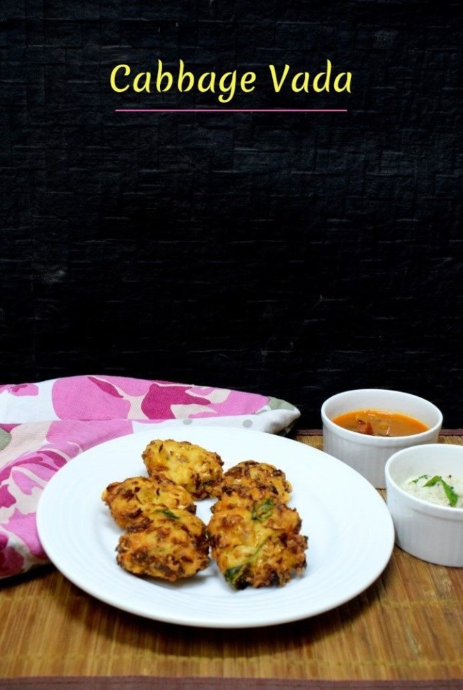 How to make Cabbage Vada