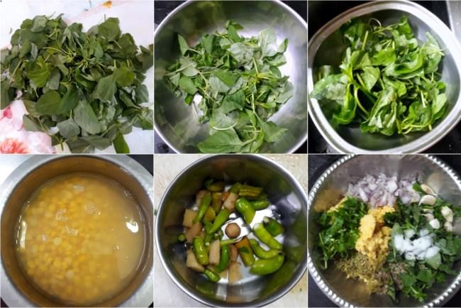 How to make Keera Vadai 1