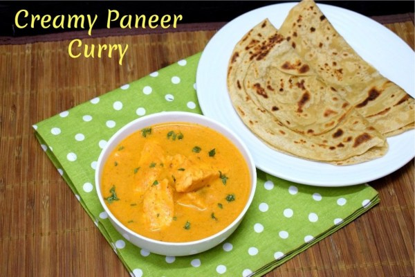 Creamy Paneer Curry