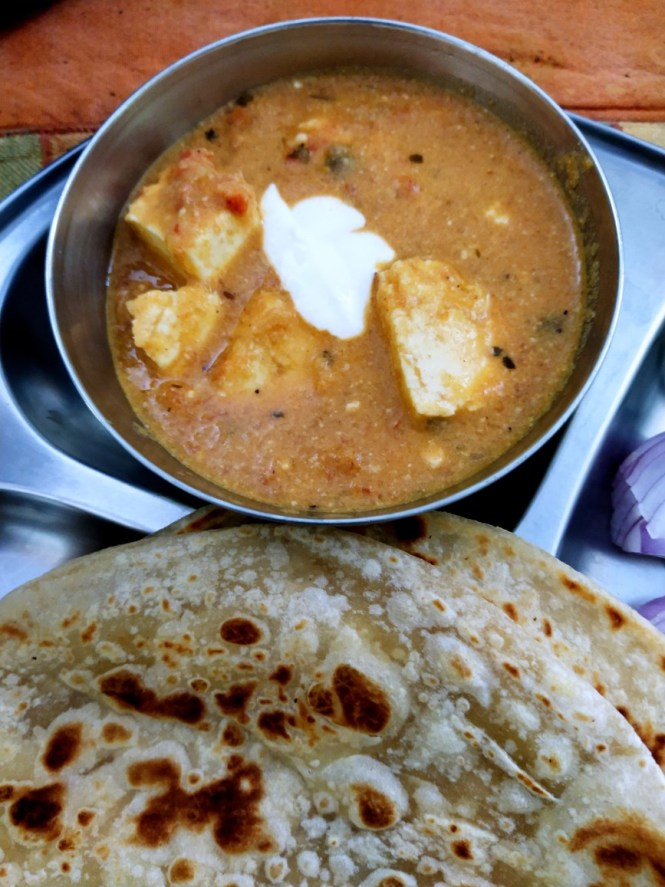 Paneer Butter Masala - Side Dish for Roti