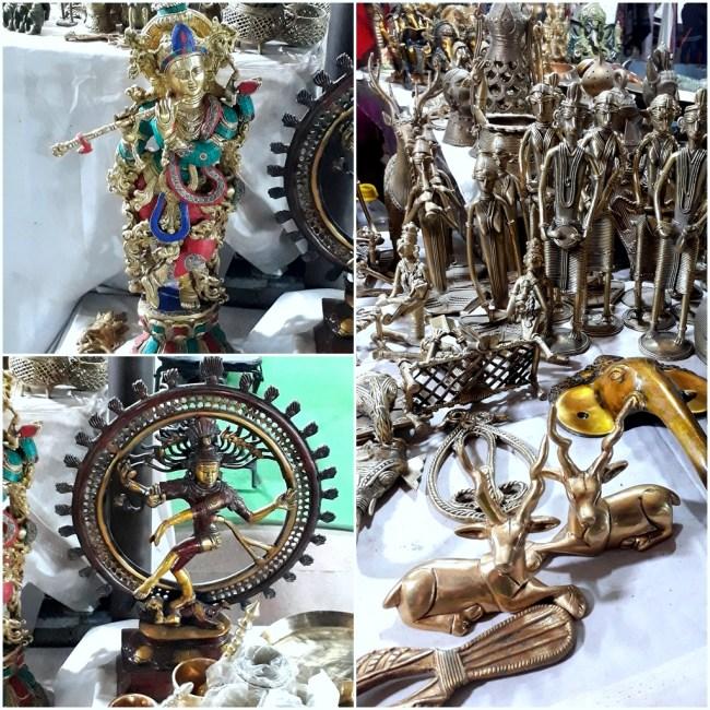 Antique Showpieces at Dilli Haat