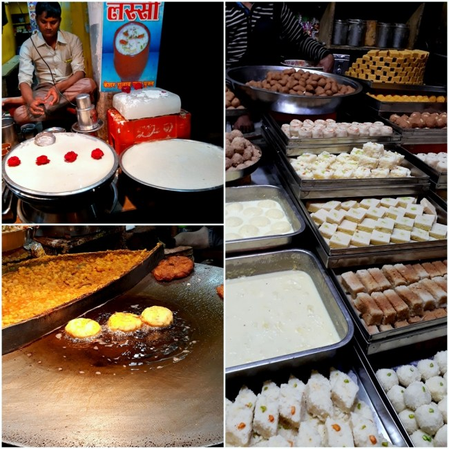 Street Food at Vrindavan