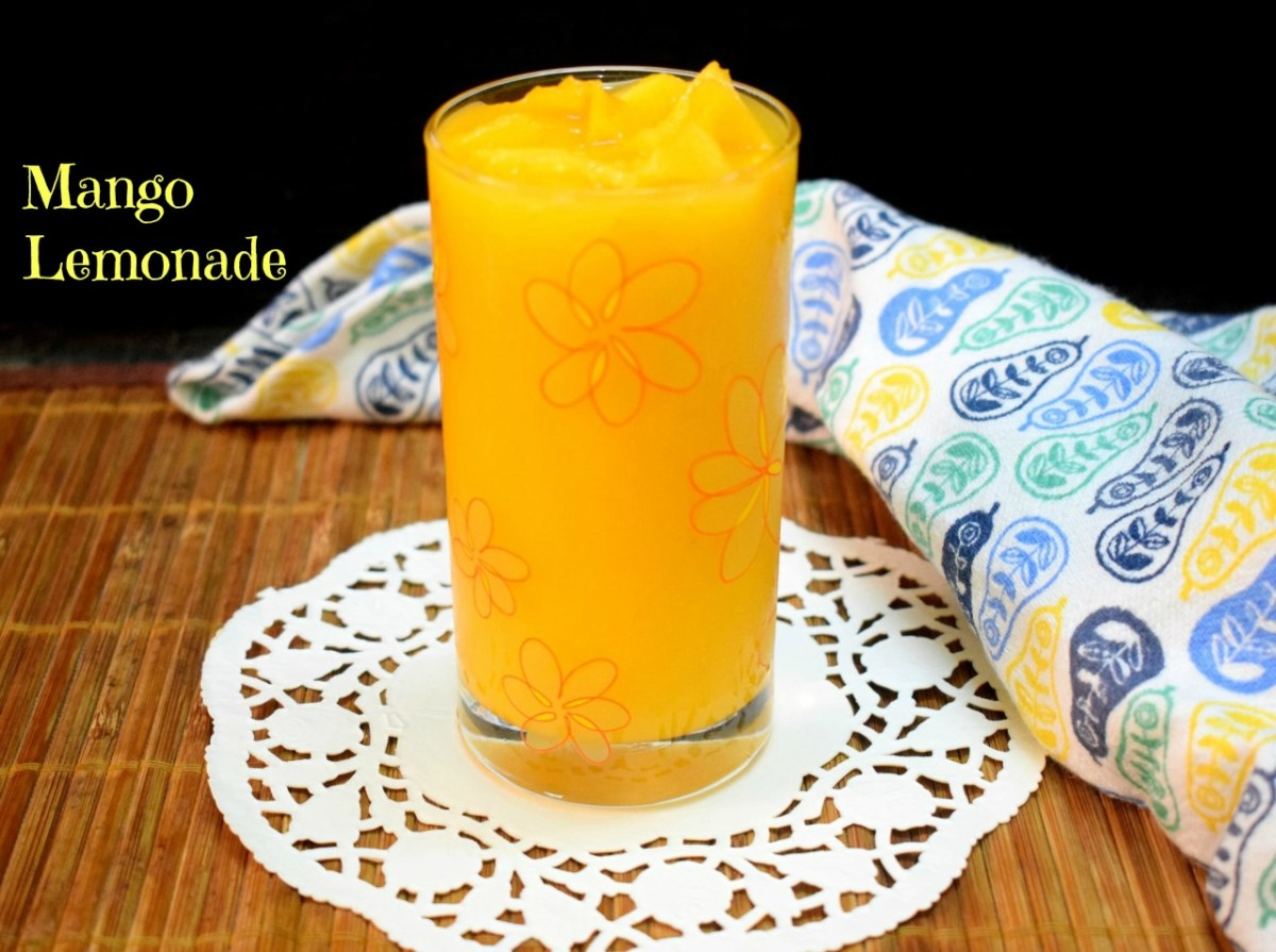 Mango Lemonade ~ Summer Cooler
