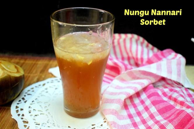Nungu Nannari Sorbet