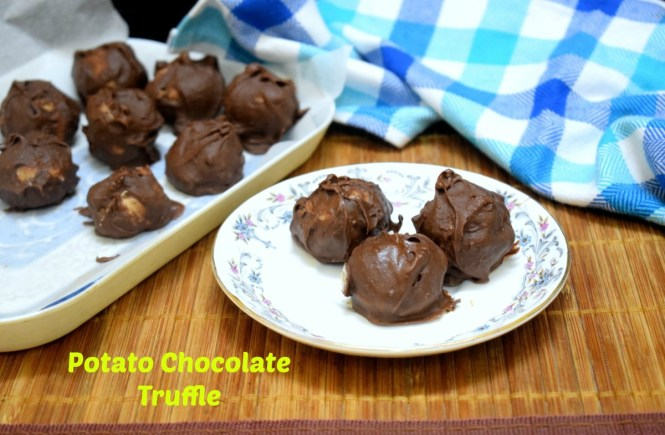 Potato Chocolate Truffle