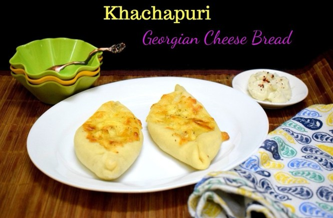 Khachapuri from Georgia