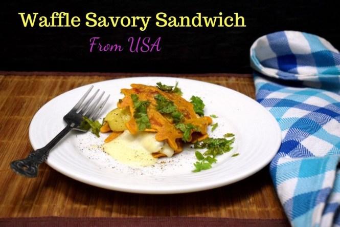 Waffle Savory Sandwich